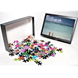 Photo Jigsaw Puzzle of Couple s legs on a beach, Maldives, Indian Ocean, Asia from Robert Harding
