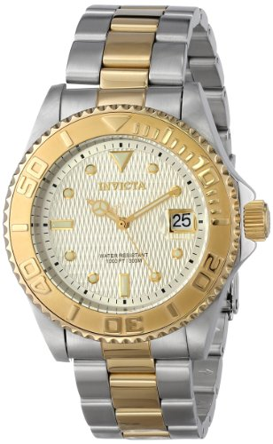 Invicta Men'S 14343 Pro Diver Analog Display Two Tone Watch