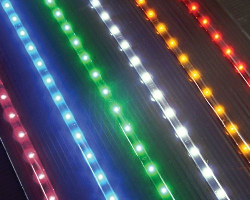 "Led Light Waterproof Strip - 35"" - 54 Yellow Lights"