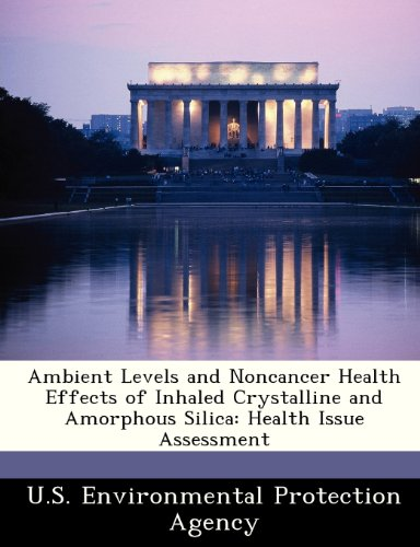 Ambient Levels and Noncancer Health Effects of Inhaled Crystalline and Amorphous Silica: Health Issue Assessment