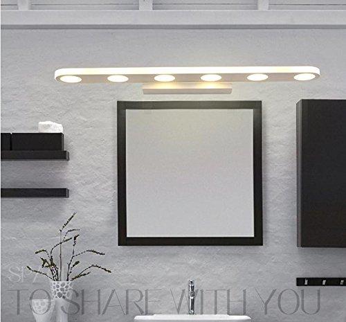 Mabor l mpara de ba o tocador luz 18w 57cm para pared - Espejos de tocador con luz ...