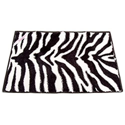 Locker Lookz Black/White Zebra Rug