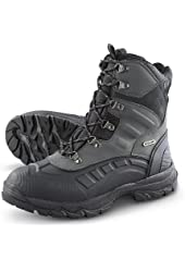 Men's Guide Gear Waterproof Alleo Peak Pac Boots with 600 gram Thinsulate Ultra Insulation Black / Graphite