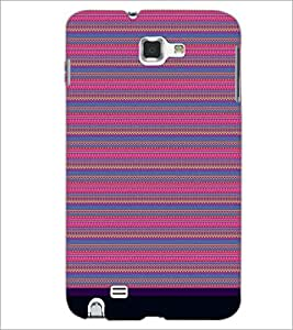 PrintDhaba Tribal pattern D-1831 Back Case Cover for SAMSUNG GALAXY NOTE 1 (Multi-Coloured)