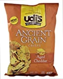 Udi's Ancient Grain Cheddar Crisps 4.93oz (Pack of 12)