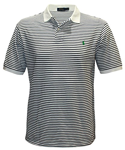 Polo Ralph Lauren Men\u0026#39;s Big \u0026amp; Tall Mesh Striped Pony Shirt Reviews