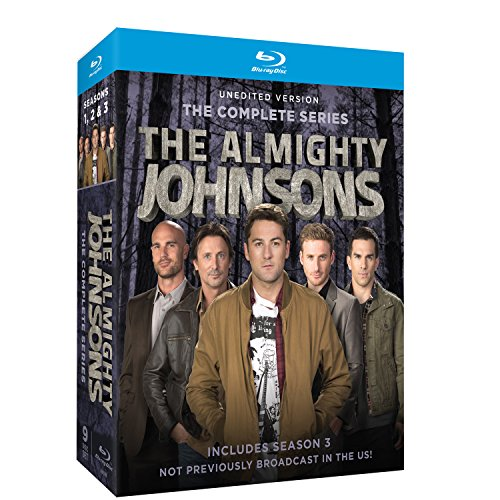 Almighty Johnsons: Seasons 1-3 [Blu-ray] (The Almighty Johnsons Season 3 compare prices)