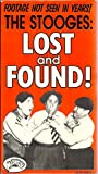 The Stooges: Lost and Found - Footage not seen in years! (VHS)