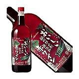 おいしい酸化防止剤無添加 ふくよか赤ワイン 1.5Lペット / メルシャン  1.5L × 6本