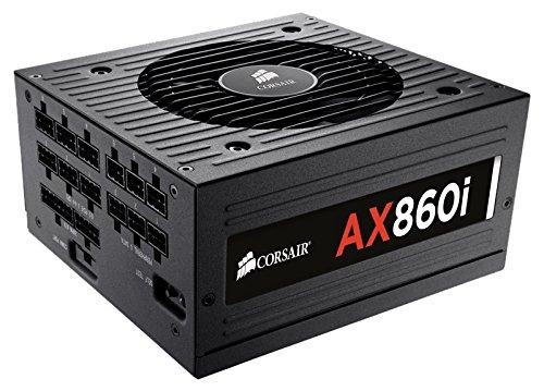 Corsair CP-9020037-EU Professional Series AX860i ATX/EPS Modulaire Complet 80 PLUS Platinum 860W Digital Alimentation PC EU