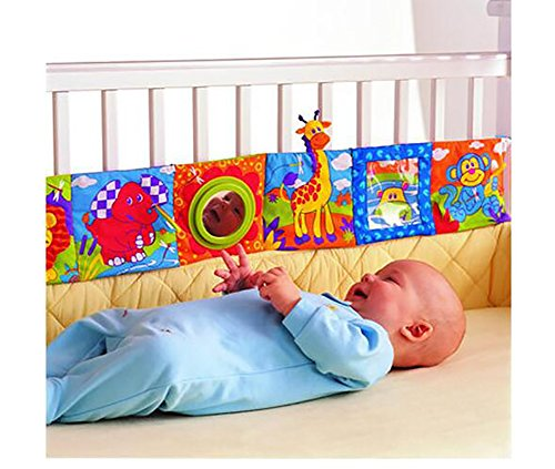 Techcell Baby Bed Wai Mesh Crib Liner Baby Cotbed/Cot Bumper (bedding, nusery) Animals Design Bed Early Childhood Rabbit Animal World Wai /Baby Cloth Book/Education Toy (Baby Crib Liner compare prices)