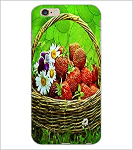 PrintDhaba Flower Bucket D-3416 Back Case Cover for APPLE IPHONE 6S (Multi-Coloured)