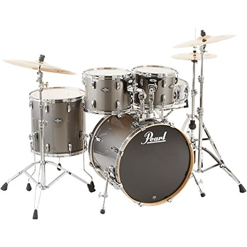 Pearl VBL925P/C Vision Birch Lacquer 5-Piece Drum Set - Graphite