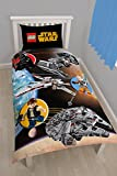 Lego Star Wars Einzelbettbezug und Kissenbezug Set