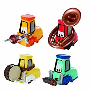 Amazon.com: 2013 Disney Pixar Cars Uncle Topolino's Band - Festival