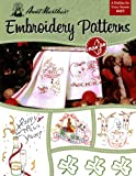 Aunt Martha's A Holiday For Every Season Embroidery Transfer Pattern Book, Over 25 Iron On Patterns