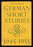 German Short Strs 1945 - 55 (0521067189) by Waidson, H. M.