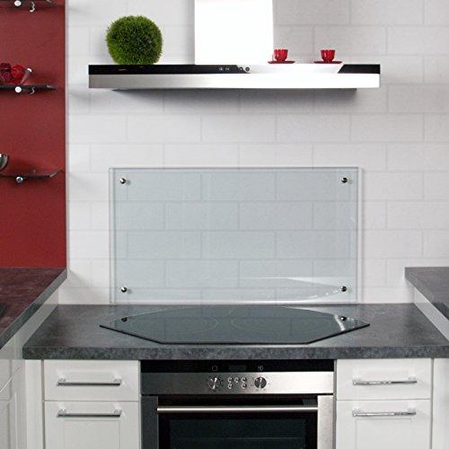 k chenr ckwand spritzschutz aus klarglas oder mattglas in diversen gr en. Black Bedroom Furniture Sets. Home Design Ideas