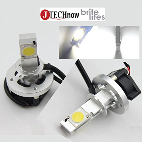 Jtech H3 Type High Power Cree Led Headlight - Replaces Halogen & Hid Bulbs