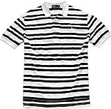 Polo Ralph Lauren Classic-Fit Black Stripe Polo (XX-Large, Oxford White)