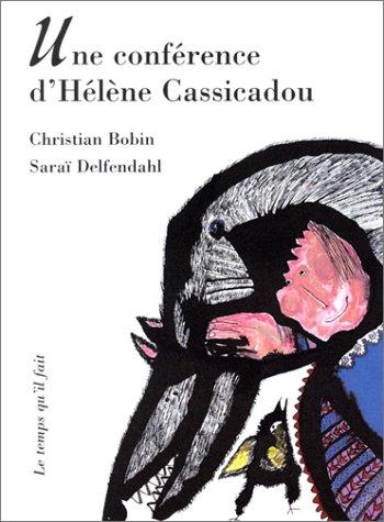 Une conférence d'Hélène Cassicadou