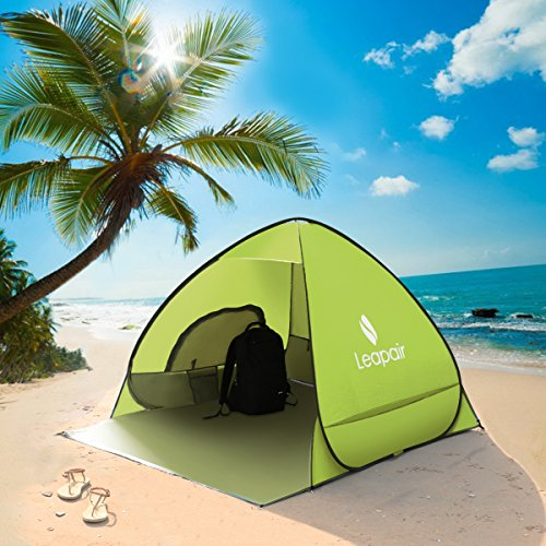 leapair-tienda-de-campana-instantanea-para-playa-abre-automatica-impermeable-contrar-uv-50-upf-verde