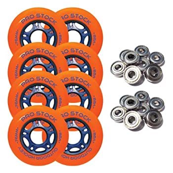 Set A Shopping Price Drop Alert For PRO STOCK Outdoor Inline Skate Wheels 76mm Asphalt Formula +Abec 9 Bearings