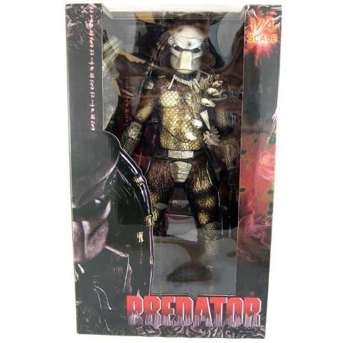 b6d458da947 NECA Predator Movie Quarter Scale Action Figure Classic Predator Masked