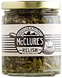 McClure's Garlic Relish 9 oz (Pack of 4)