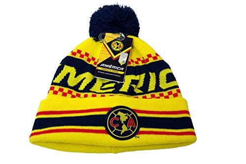 CA Club America Authentic Official Licensed Product Soccer Beanie - 005 (America Soccer Jacket compare prices)