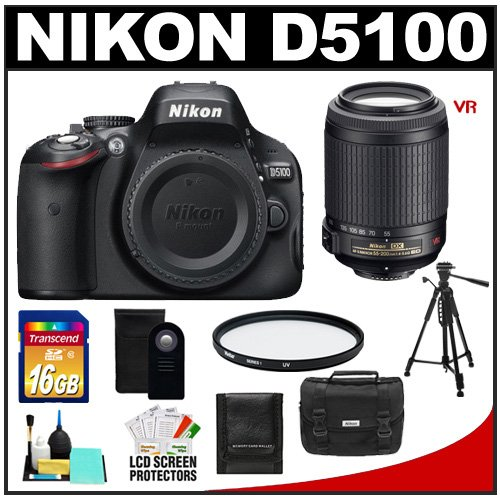 Nikon D5100 16.2 MP Digital SLR Camera Body