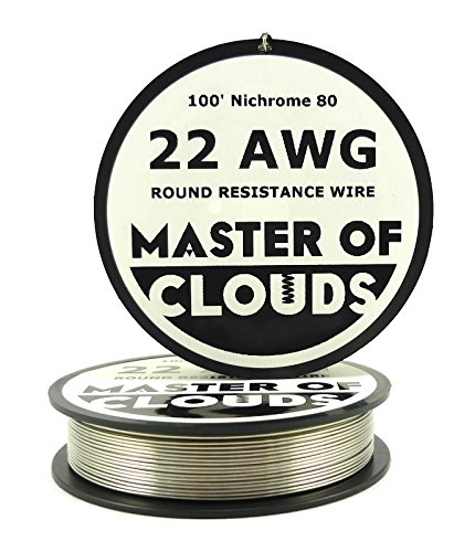 Nichrome 80 - 100 ft 22 Gauge AWG Resistance Wire 0.64mm 22g 100'