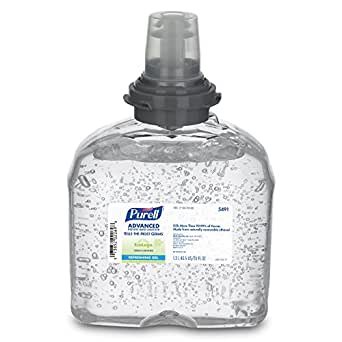 PURELL 5491-04 Green Certified Instant Hand Sanitizer, 1200 mL TFX Refill (Case of 4)