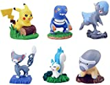 Image of Pokemon Buildable Figure Collection 4 Set of 6