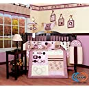 Boutique Brand New Geenny Baby Girl Artist 13pcs Crib Bedding Set