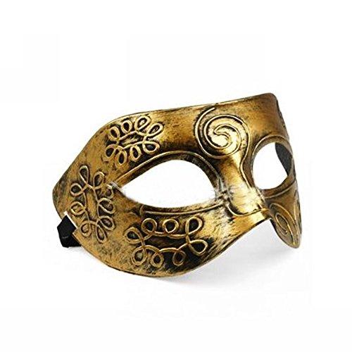 ZHIHU Retro Roman gladiator Halloween party masks man woman children Mardi Gras Masquerade mask