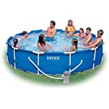 Intex 12-Foot by 30-Inch Metal Frame Pool Set (Discontinued by Manufacturer)