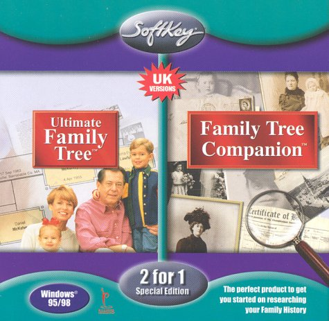 Ultimate Family Tree and Family Tree Companion (2 for 1 Special Edition)