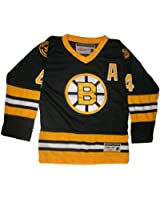 CCM Throwback Bobby Orr Jersey, Boston Bruins #4 Heroes of Hockey, Youth
