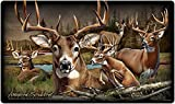 Wildlife Collage Tempered Glass Cutting Board (Whitetail Deer)