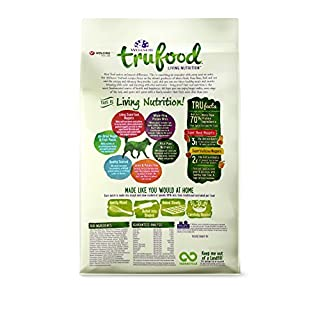 Wellness TruFood Baked Blends Natural Grain Free Dry Dog Food, Lamb Chickpeas and Turkey Liver Recipe, 3-Pound Bag
