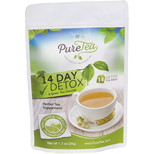 Get fit with PureTea 14 Day Detox and Green Tea Cleanse. This herbal tea  blend is a 100% natural and gentle way to help the body cleanse using the  ...
