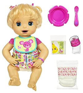 Amazon Com Baby Alive Caucasian Doll Toys Amp Games