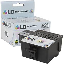 LD © Compatible Replacement for Kodak 8946501 (#10) Color Ink Cartridge for Kodak EasyShare 5100, 5300, 5500, ESP Office 6150, 3, 5, 7, 9, 3250, 5210, 5250, 7250, 9250, Hero 6.1, 7.1, 9.2