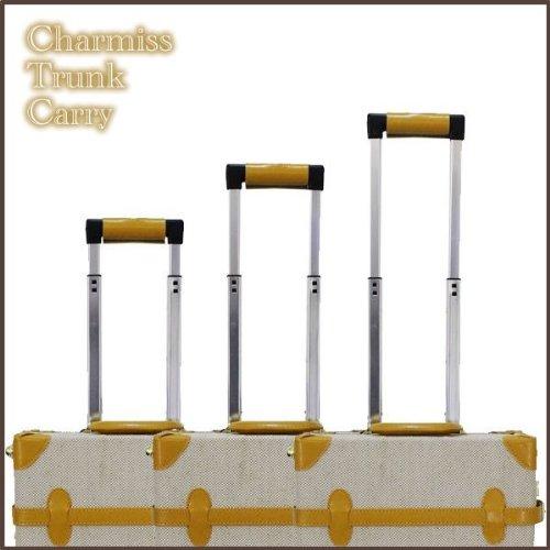キャリーバッグ リネン レトロ クラシック トランク 布製