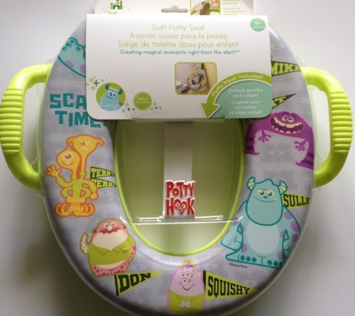 Monsters University Soft Potty Seat with Handles Disney Baby - 1