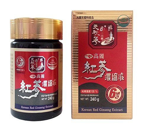 IL HWA 240g Koreanischer Panax Roter Ginseng 100% Extrakt, 6 Jahre Picture