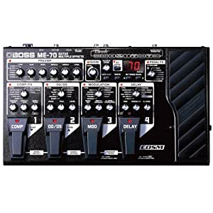 boss me 70 guitar multi effects pedal musical instruments. Black Bedroom Furniture Sets. Home Design Ideas