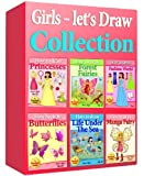 how to draw collection for girls / 6 drawing books on sale! (148 pages!) (how to draw collcetions)
