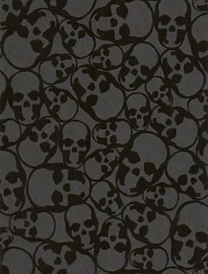 Barbara Hulanicki Skulls Wallpaper by Graham and Brown